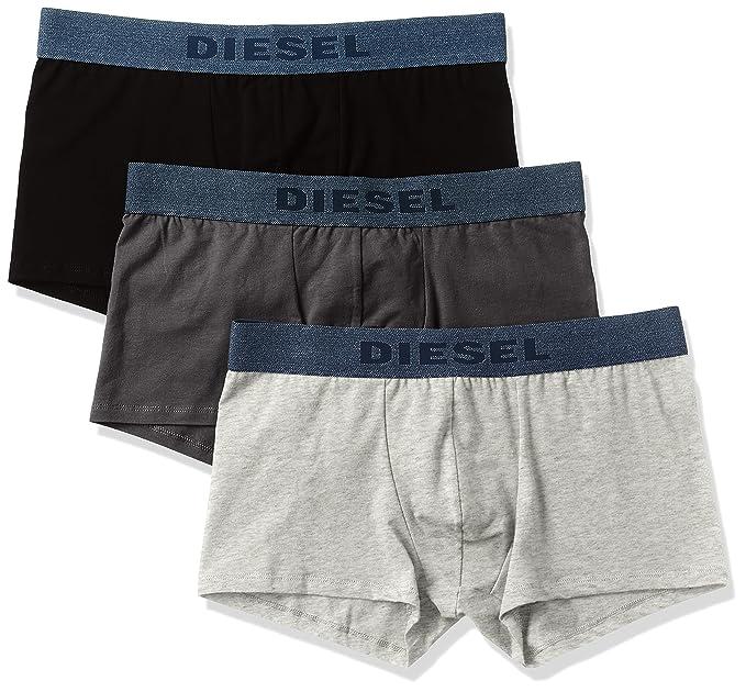 Diesel 00SAB2-0AAMU, Calzoncillos para Hombre, (2), S