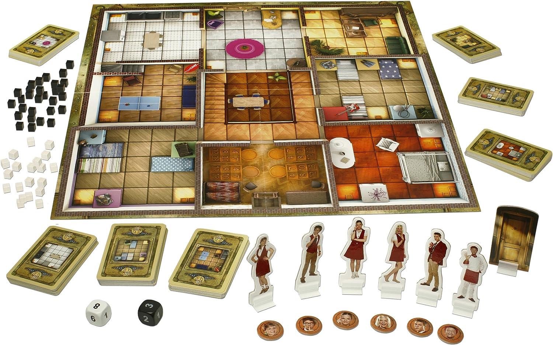 Studio 100 - Juego de Tablero Hotel 13, 2 a 4 Jugadores (MEHO0000020) (versión en alemán): Amazon.es: Juguetes y juegos