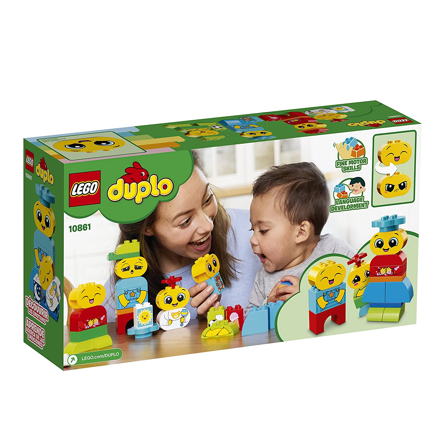 28 Piece LEGO DUPLO My First Emotions 10861 Building Blocks