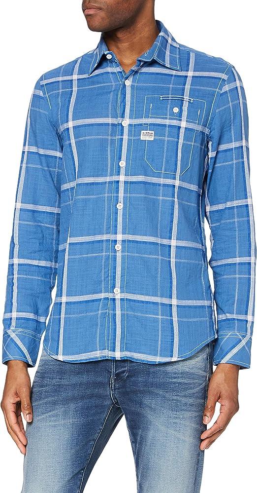 G-STAR RAW Bristum 1 Pocket Slim Camisa Vaquera para Hombre