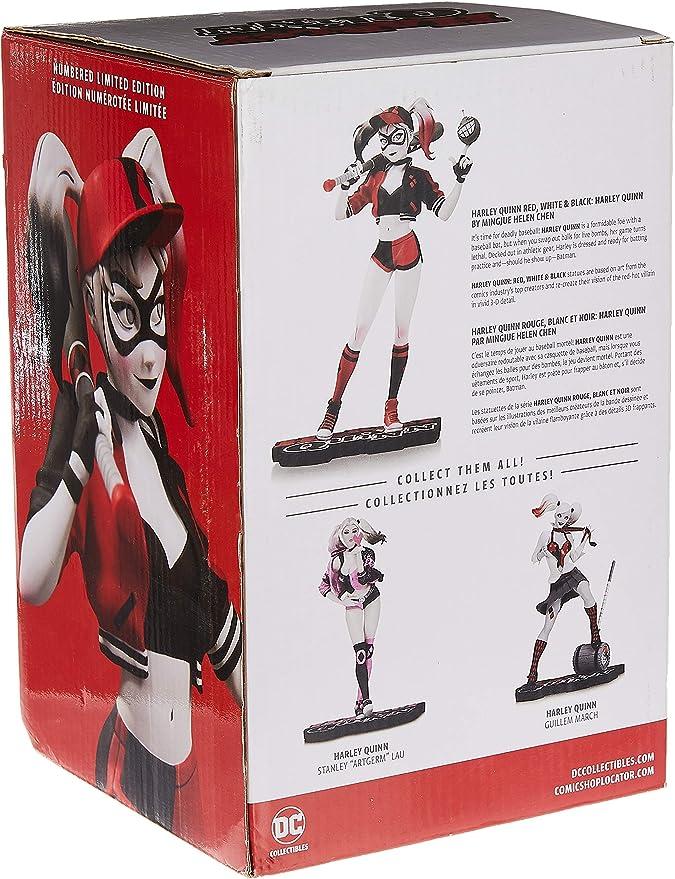 DC Collectibles Harley Quinn rouge noir et blanc Harley Quinn par Joshua middleto