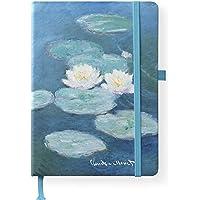 Monet 16x22 cm - Blankbook - 192 blanko Seiten - Hardcover - gebunden: ArtLine
