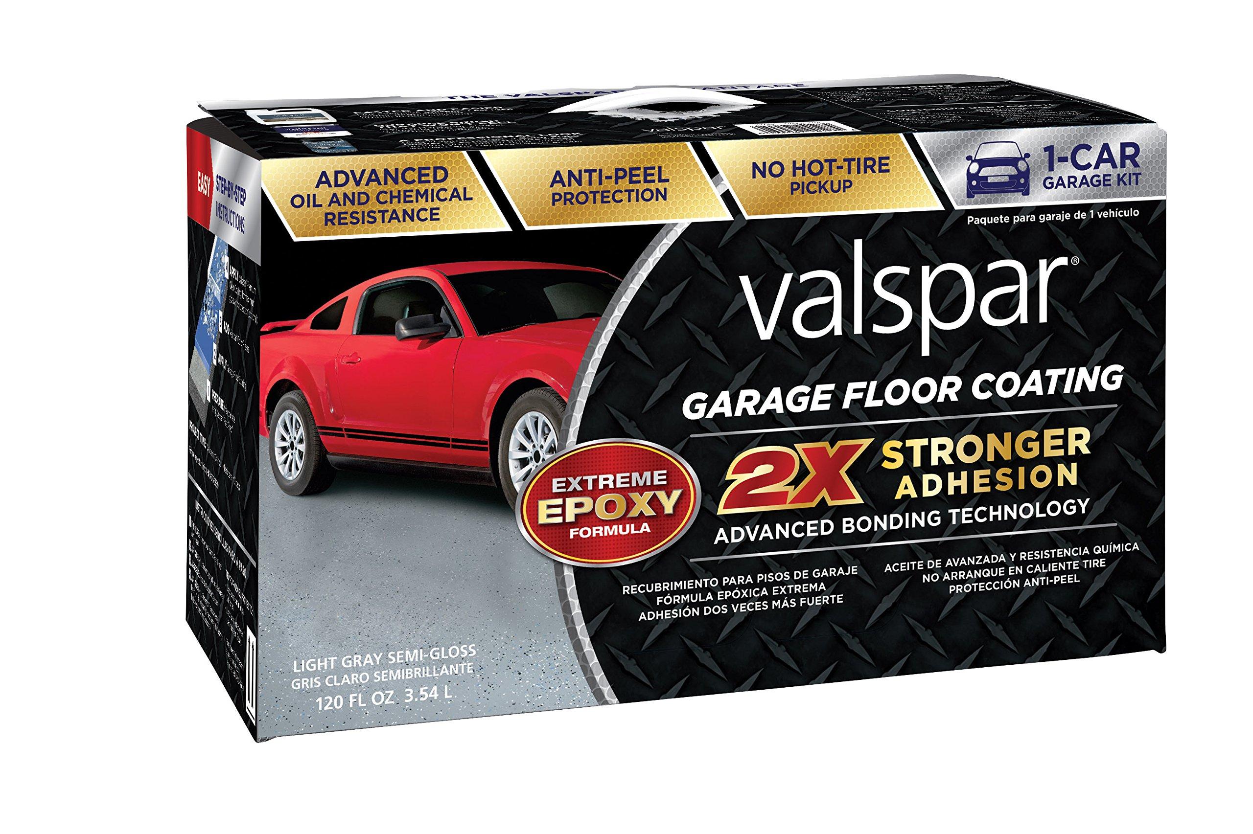 Valspar (1081020 Light Gray Garage Floor Coating Kit - 120 oz.