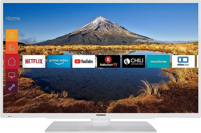 Telefunken Xf40g511 W 102 Cm 40 Zoll Fernseher Full Hd Triple Tuner Smart Tv Prime Video Heimkino Tv Video