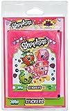 Topps - Sh251 - Shopkins - 16 + 2 Pochettes de 5 Stickers
