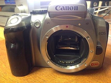 amazon com canon eos 6 3mp digital rebel camera body only slr rh amazon com