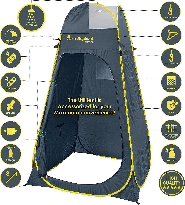 show wc Vélo VERT éléphant Pop Up utilitent – Privacy Portable Camping