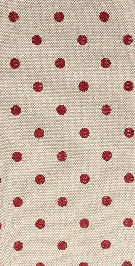 Retal de tela 100% algodón estampado lunares – telas lunares ...