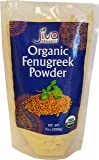 Jiva Organic Fenugreek Powder (Methi) 7 Ounce Bag - Nearly 1/2 Pound!