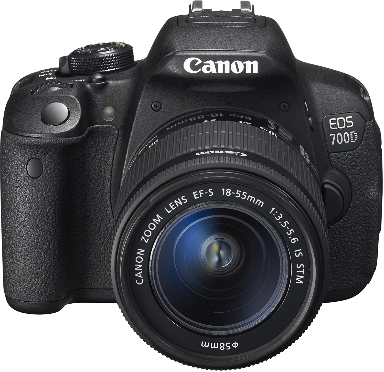 Canon EOS 700D + EF-S 18-55mm 3 5-5 6 is STM - International Version