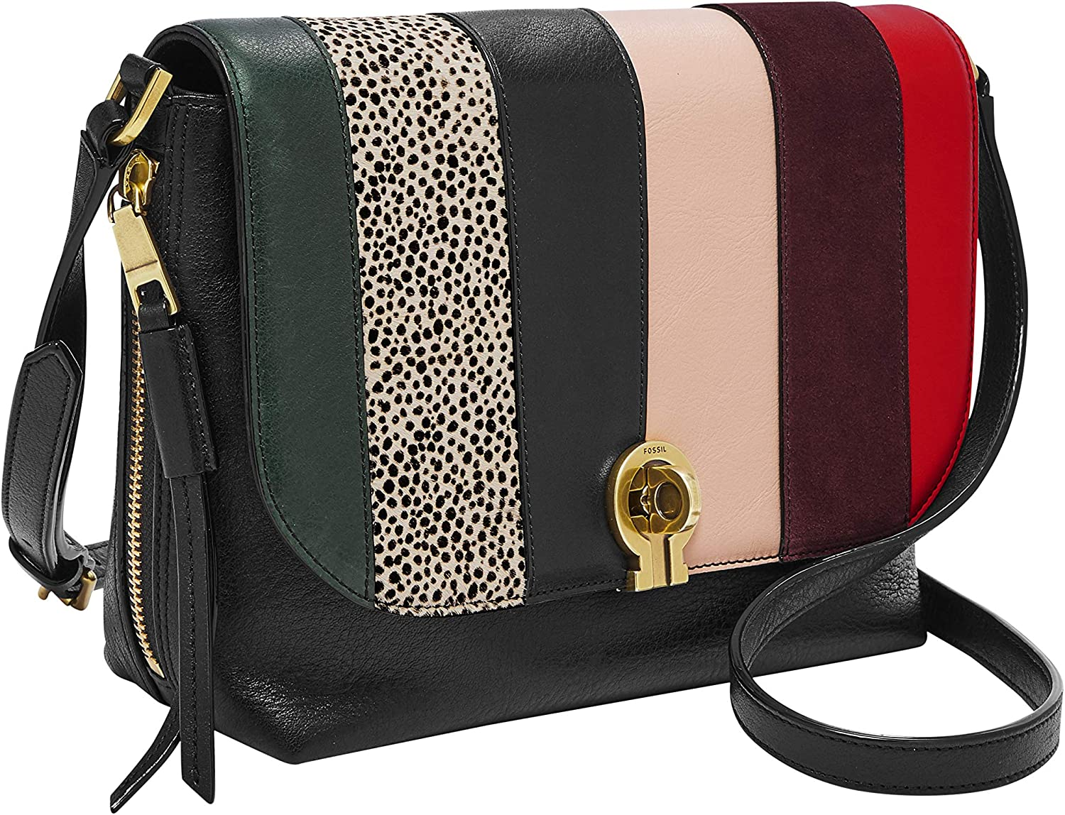 Fossil Women's Maya Small Flap Crossbody Bag