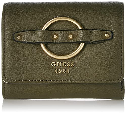 Guess - Dixie, Carteras Mujer, Verde (Olive/Olv), 12.5x11x3