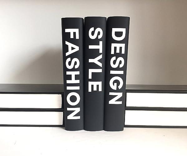Style Fashion Design Books Book Decor Decorative
