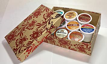 10 Cup Cake Boss Coffee GIFT BOX Sampler! New Flavors! Chocolate Cannoli, Italian