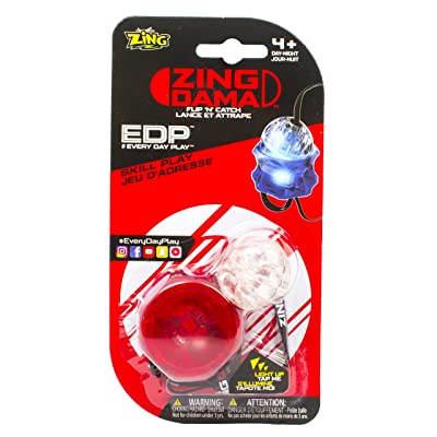 Zing DAMA Red: Toys & Games