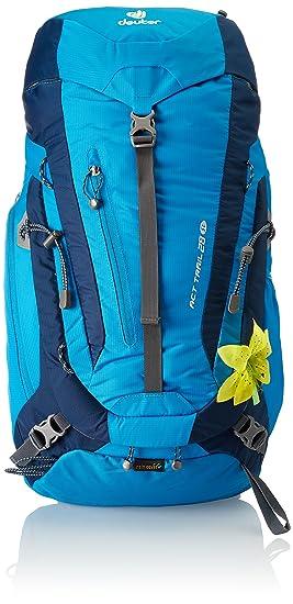 Deuter Act Trail 28 SL Mochila, Unisex Adulto, Azul (Turquoise/Midnight), 24x36x45 cm (W x H x L): Amazon.es: Deportes y aire libre