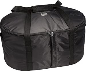 Hamilton Beach Travel Case & Carrier Insulated Bag for 4, 5, 6, 7 & 8 Quart Slow Cookers (33002),Black