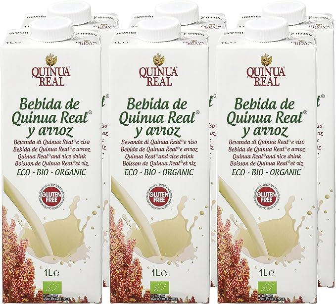 Quinua Real Bebidas de Arroz - 6 Botellas: Amazon.es: Alimentación y bebidas