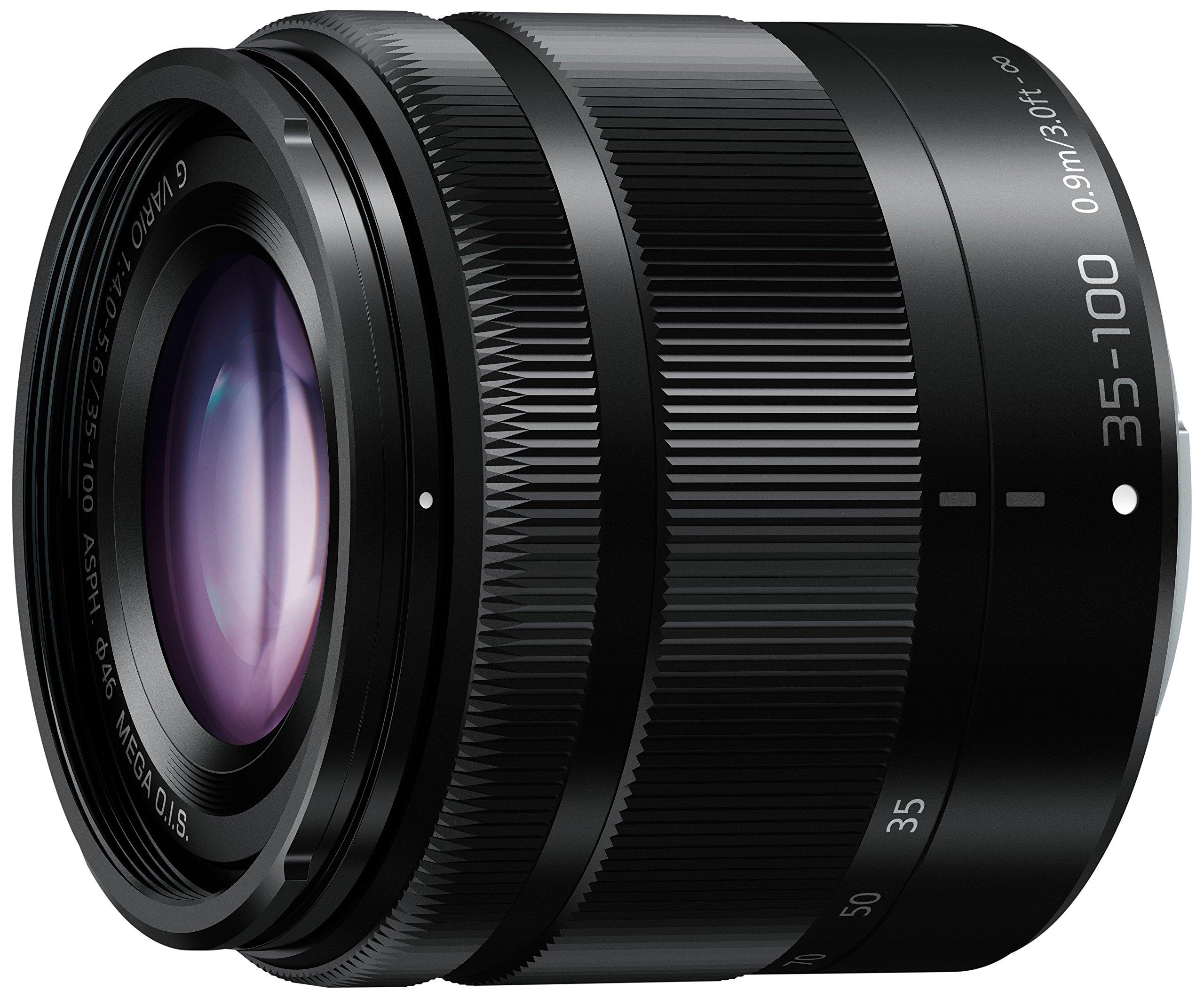 Panasonic Gx85 Lumix Gx85k Lensa 12 32mm Kamera Dmc G Vario Lens 35 100mm F40 56 Asph