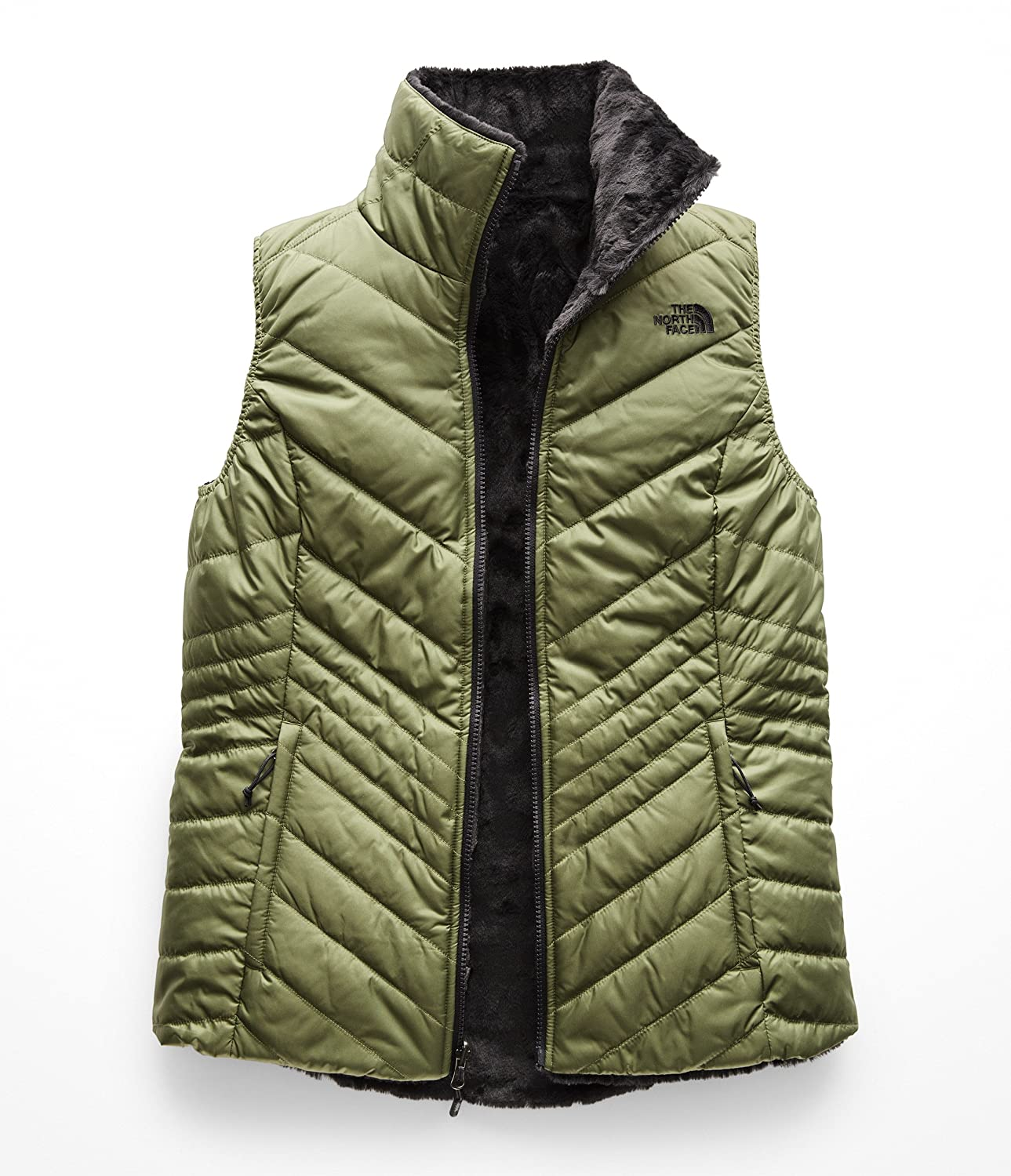4225b050ffd The North Face Women s Mossbud Insulated Reversible Vest at Amazon Women s  Coats Shop