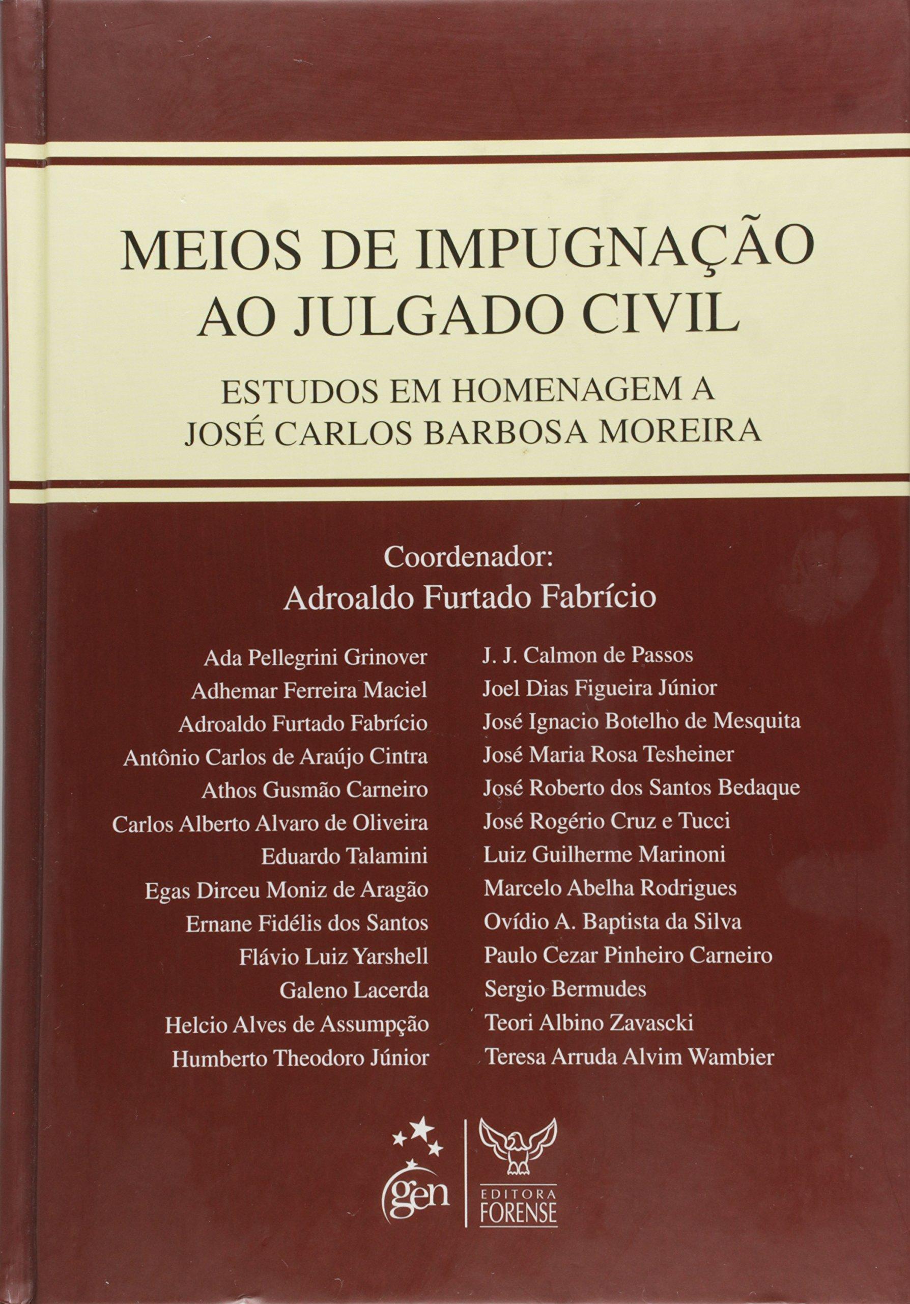 Download Meios de Impugnação ao Julgado Civil pdf