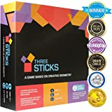 Kitki THREE STICKS Highly Creative Family Board Game For Kids Based On Maths. STEM Toy Gifts For Boys & Girls