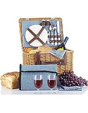 Picnic Basket Blue for 2