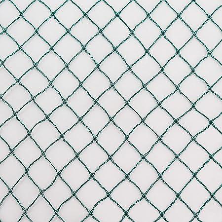 Netz 0,56 m x 10 m Masche 8 cm Teichnetz Teichschutznetz Vogelschutznetz Netz
