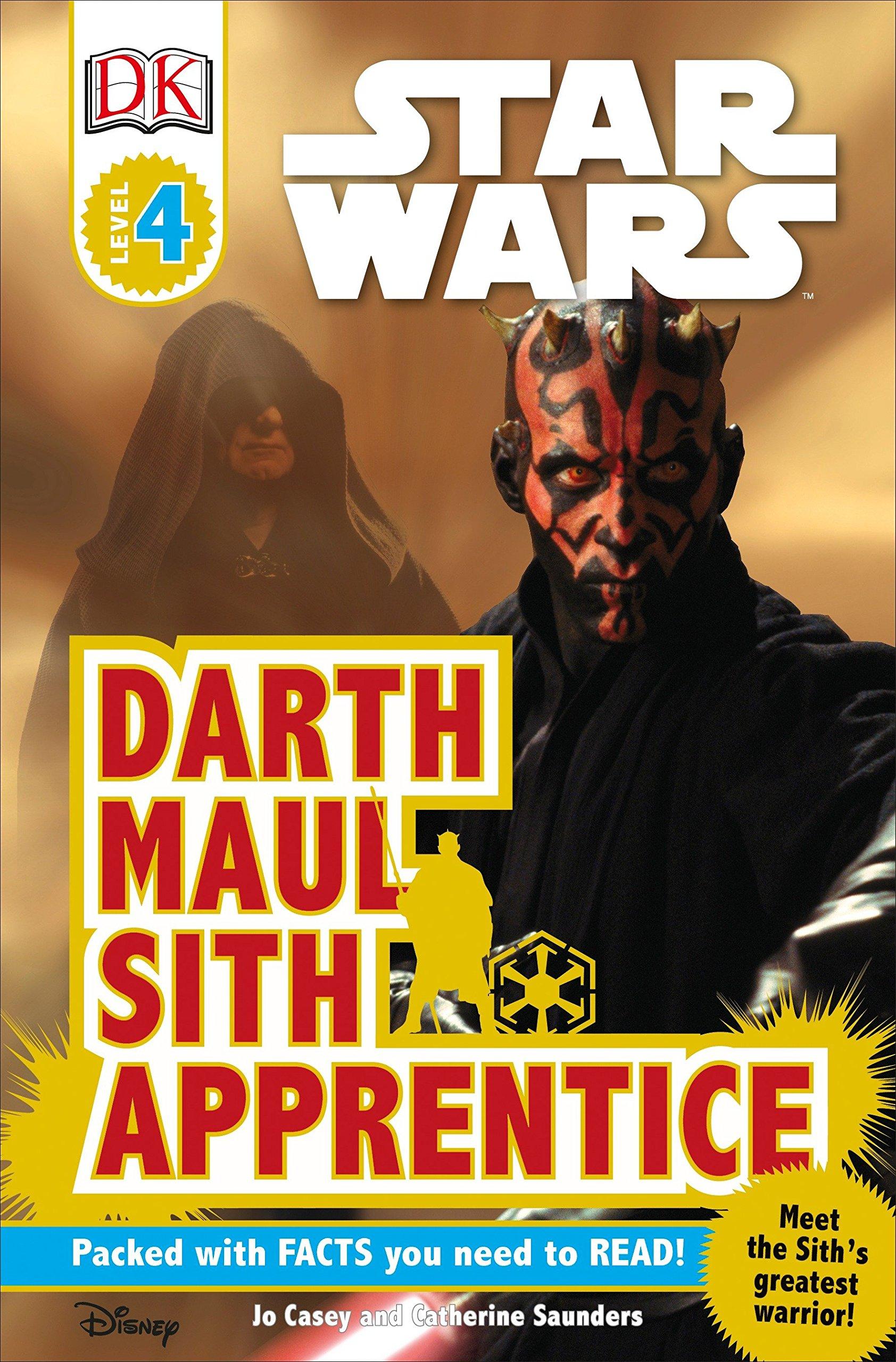 Download DK Readers L4: Star Wars: Darth Maul, Sith Apprentice pdf epub