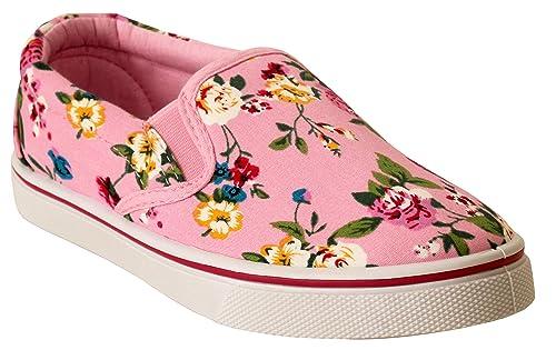 Dek - Alpargatas niña Chica, Color Rosa, Talla Jovenetud 32 EU: Amazon.es: Zapatos y complementos