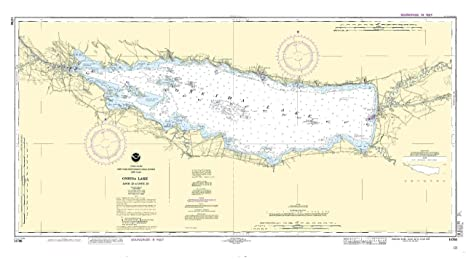 Oneida Lake Map Amazon.: 14788  Oneida Lake   Lock 22 to Lock 23 : Fishing