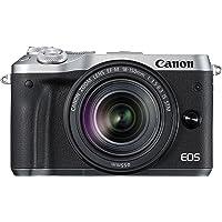 Canon EOS M6  EF-M 18-150mm F3.5-6.3 IS STM lens , 24.2 MP Mirrorless Digital Camera, Black