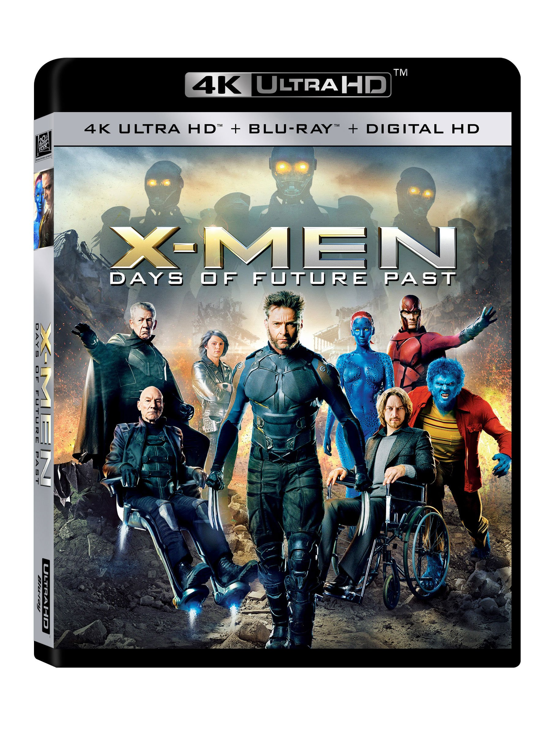 4K Blu-ray : X-Men: Days of Future Past (Digitally Mastered in HD)