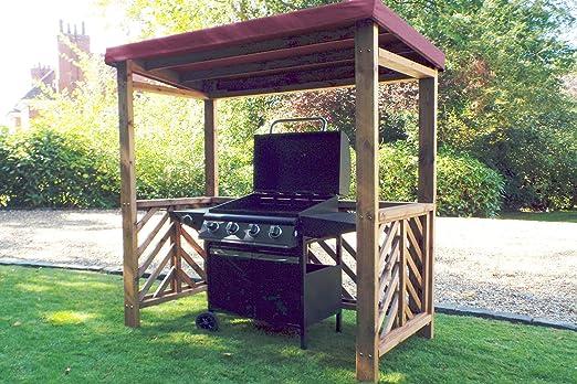 Home Gift Garden Refugio de Madera para Barbacoa de jardín, Regalo para el hogar: Amazon.es: Jardín