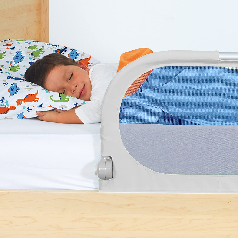 Munchkin Sleep Bed Rail Grey Amazoncouk Baby