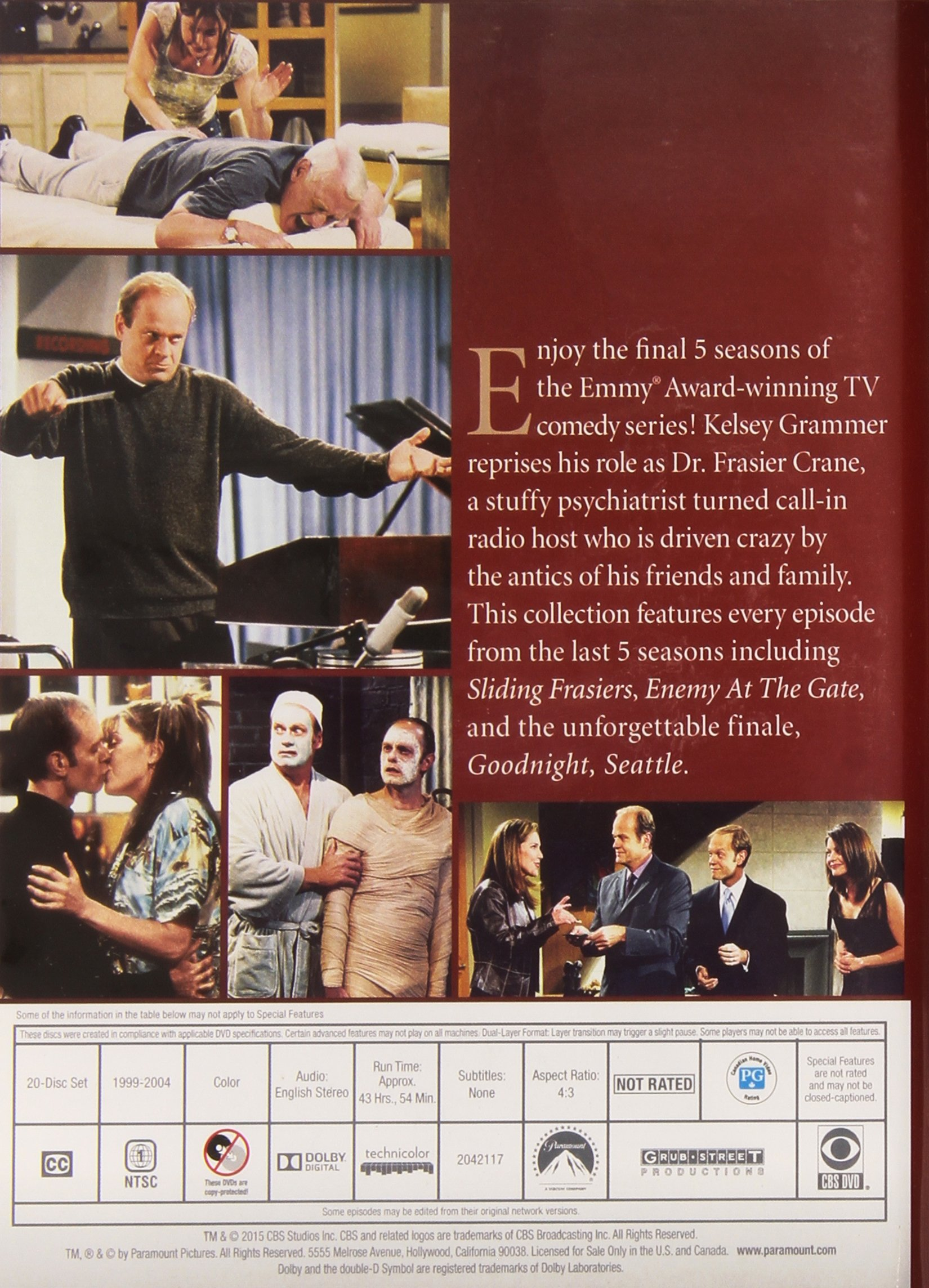 Frasier: The Complete Series by WAX WORKS VIDEO WORKS
