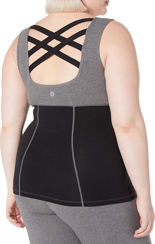 Rainbeau Curves Womens Plus Size Janis Tank