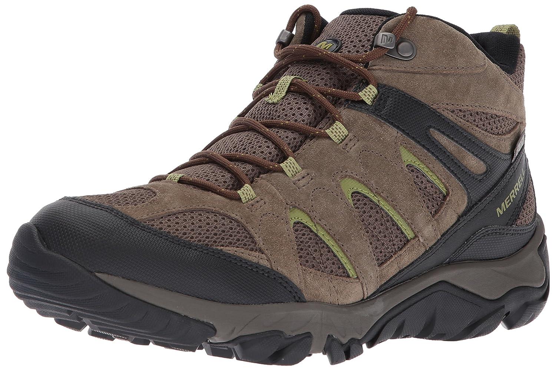 Merrell Men's Vent Outmost Mid Vent Men's Waterproof Hiking Boot, Boulder, 11 M US 7d16a7