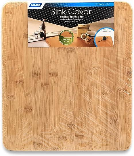 Amazon.com: Camco Oak Accents Silent Top - Cubierta para ...