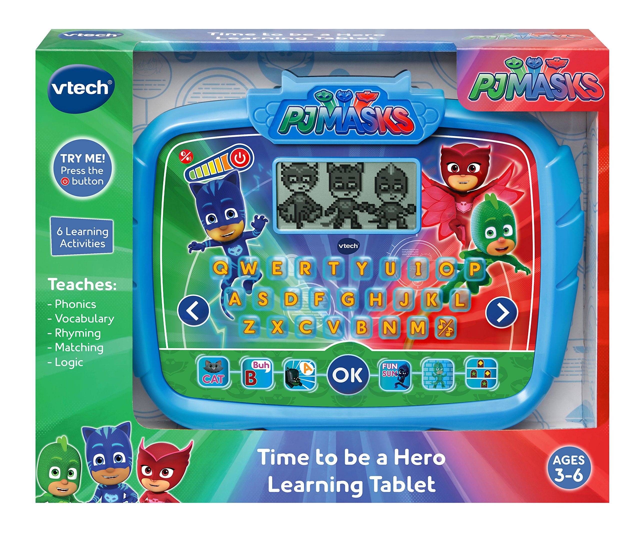 VTech PJ Masks Time to Be A Hero Learning Tablet by VTech (Image #4)