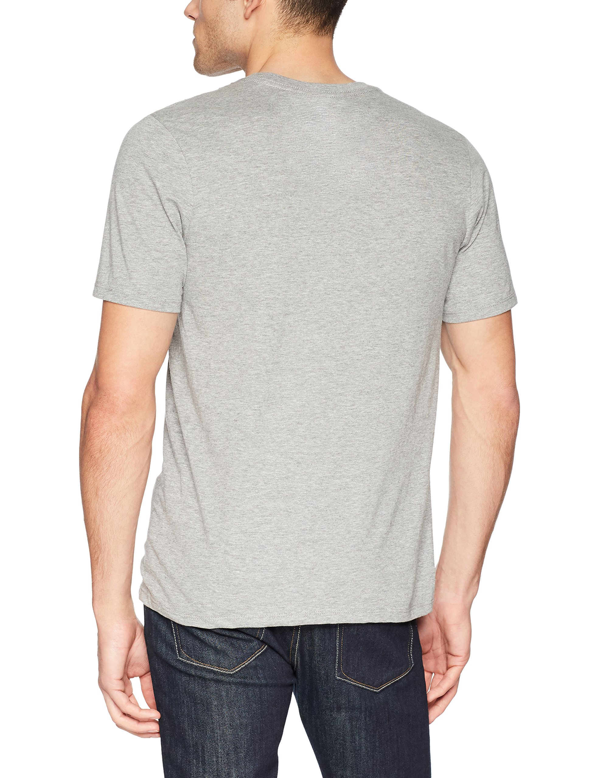Hurley Men's One and Only Gradient Fill Premium Short Sleeve Tee Shirt, Dark Grey Heather, M by Hurley (Image #2)