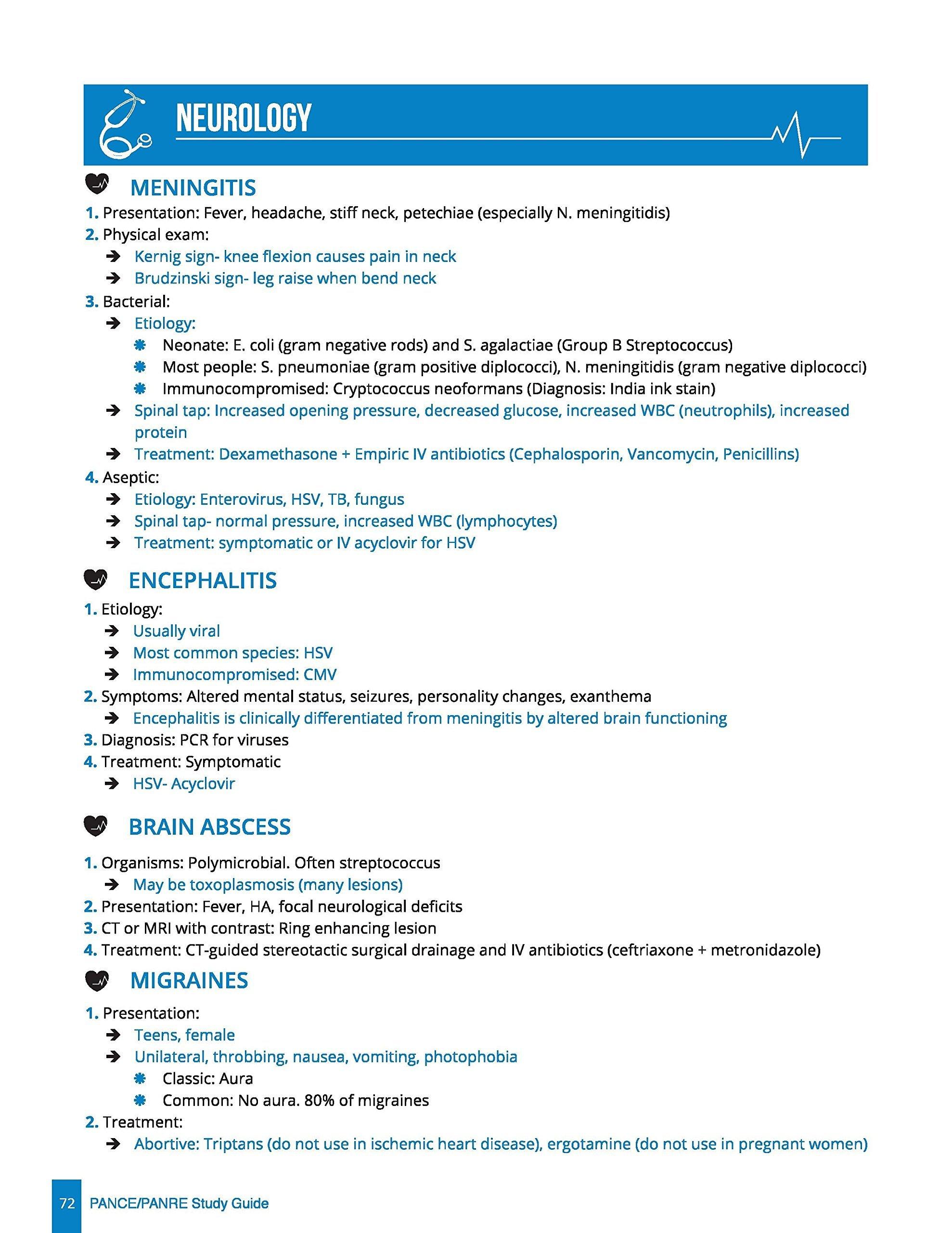 Pancepanre study guide lauren russo 9781364408626 amazon books malvernweather Images