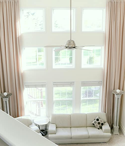 Extra Long Natural Linen Drapes For High Ceiling Custom Made 16u0027 17 Feet  Long 9