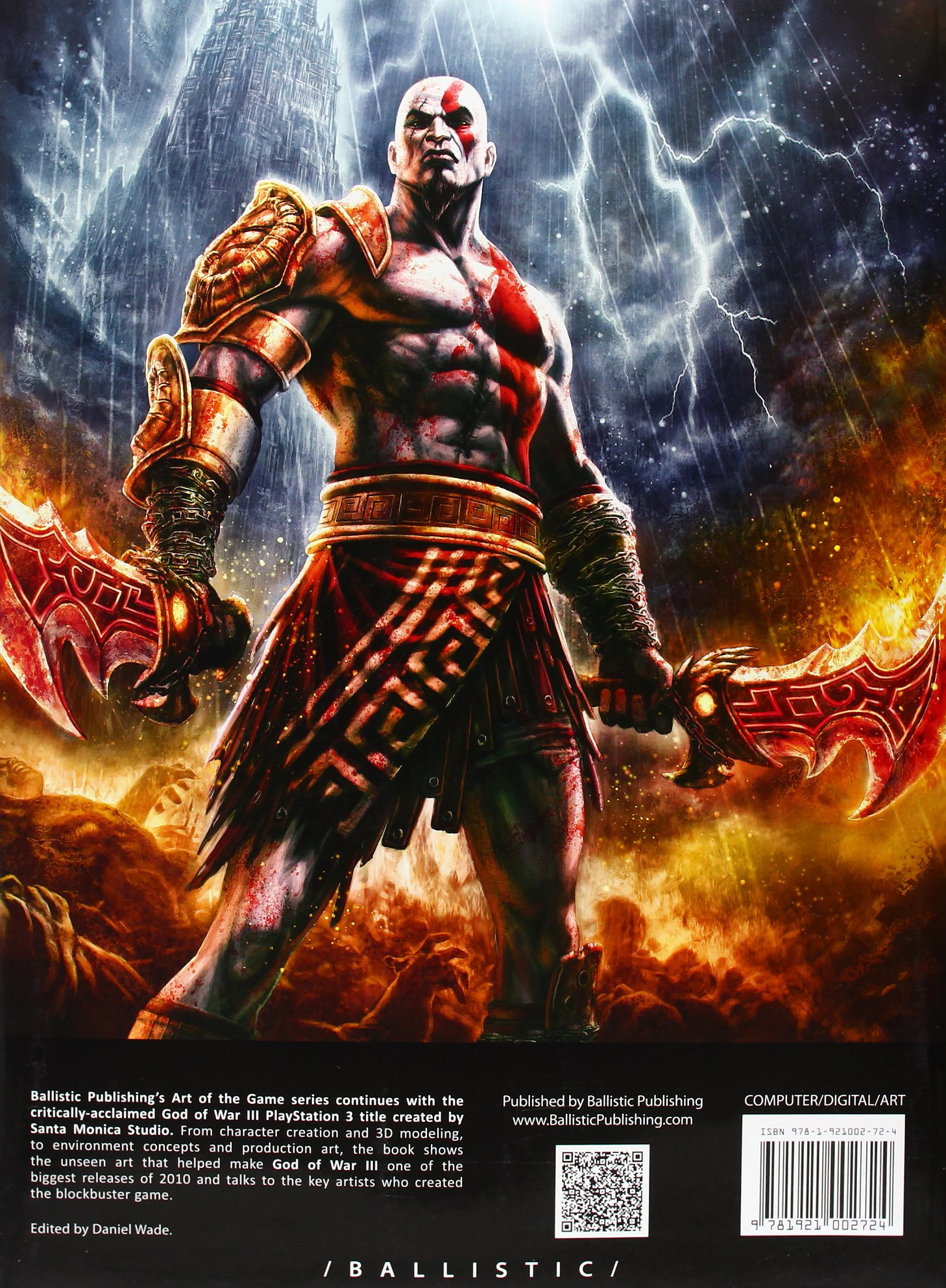 Amazon com: The Art of God of War III (The Art of the Game