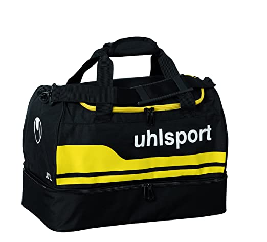 Uhlsport Basic Line 2.0 75L Sac de Sport Grand Format, 58 cm, Noir/Lagon
