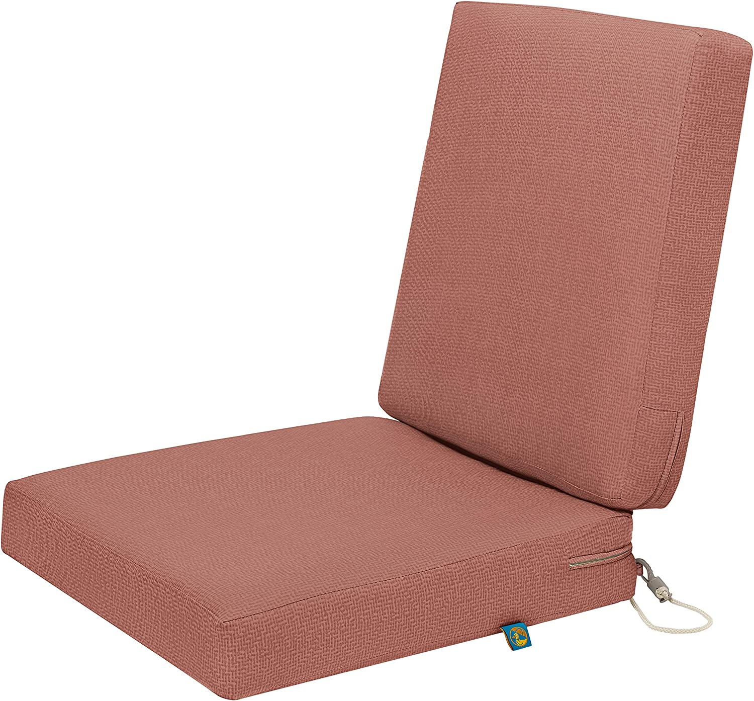 Duck Covers CCWCH36183 Weekend Water-Resistant 36 x 18 x 3 Inch Dining, Cedarwood Outdoor Chair Cushion