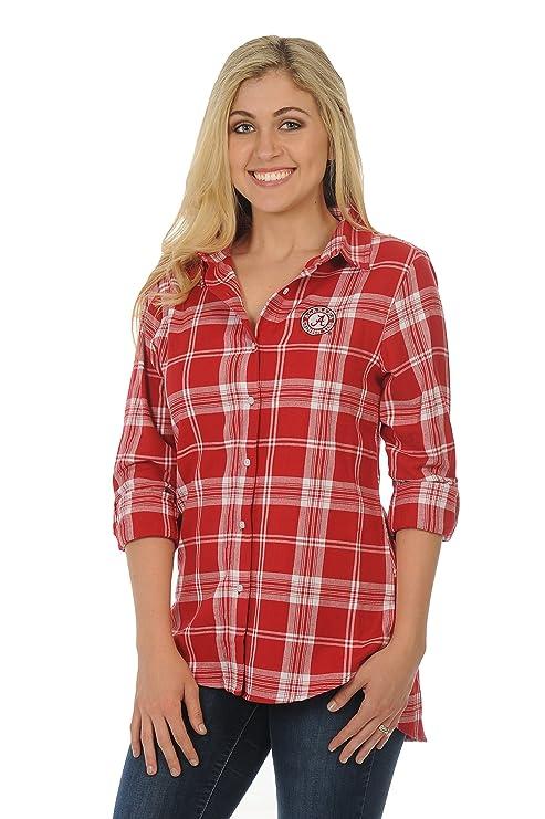 57ea237a819 Amazon.com   UG Apparel NCAA Alabama Crimson Tide Women s Plus Size ...