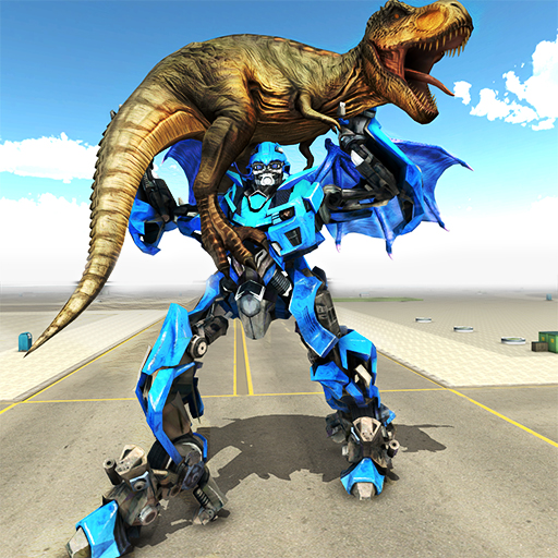 (Transforming Dragon Robot VS Jurassic Dino World)