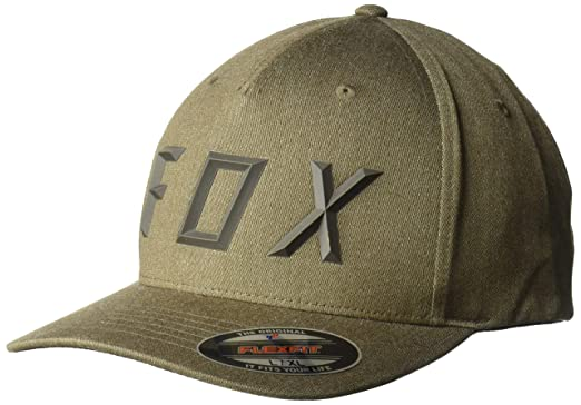 buy popular 5931e 9c8a4 Fox Men s Sonic Moth Flexfit HAT, bark, ...
