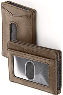 6f48b067ecbb AG Wallets Mens Leather Bifold ID Magnetic Money Clip Wallet with ...